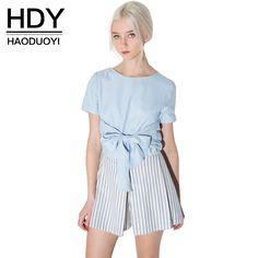 Aliexpress.com: Compre HDY Vaca Estilo Haoduoyi Womens 2016 Verão Magro T shirt…