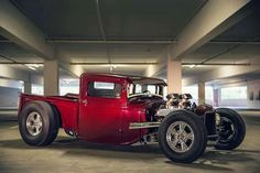 redpencilcreations:   Dam fine looking hot rod... - Kustom Kulture- I Live For This Shit