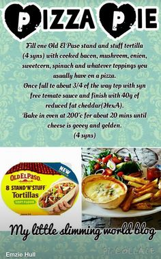 Slimming world pizza pie astuce recette minceur girl world world recipes world snacks Slimming World Pizza, Slimming World Tips, Slimming World Dinners, Slimming World Recipes Syn Free, Slimming Eats, Syn Free Food, Crockpot, Smoothies, Sliming World