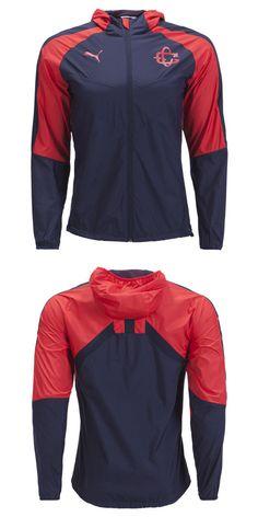 89b12906c Clothing 33485  Puma Men S Chivas 18 19 Light Weight Jacket Red 753702 02 -