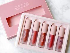 Makeup Kit, Skin Makeup, Beauty Makeup, Cute Lipstick, Lipstick Set, Makeup Items, Makeup Brands, Korean Makeup Products, Lipstick Collection