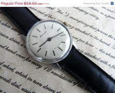 ON SALE Men's Watch Raketa 1970's /Mechanical  watch by RetroWatch, $50.15