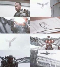 Captain America ~ Falcon
