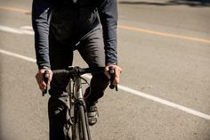 Arc'teryx's A2B Commuter Line; built to take you from the bike to the office.