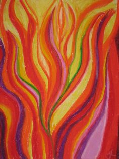 Creating art during worship is very rewarding, it is also very freeing.  You never know where the spirit will lead.