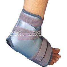 Mueller Ankle Brace: GPC Medical Ltd. - Exporter & Manufacturers of Ankle brace, elastic ankle braces, plastic ankle brace, mueller ankle brace from India. Braces, Medical, Plastic, India, Ankle, Rajasthan India, Plastic Art, Button Suspenders, Medicine