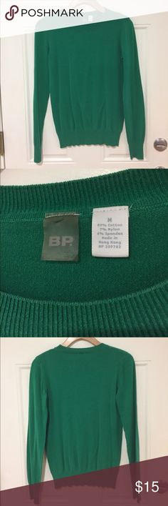 BP crew neck green sweater Cozy green BP sweater. Add a scarf, skinny jeans, and booties for a perfect fall outfit. bp Sweaters Crew & Scoop Necks