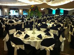 Cobblestone Creek Dining & Banquet all decked out for a wedding