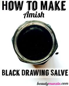 Drawing Salve Recipe for Splinters, Boils, Warts & More Learn how to make your own drawing salve using this homemade amish drawing salve recipe!Learn how to make your own drawing salve using this homemade amish drawing salve recipe! Natural Home Remedies, Natural Healing, Herbal Remedies, Health Remedies, Cold Remedies, Bloating Remedies, Holistic Healing, Holistic Remedies, Hair Remedies