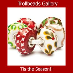www.TrollbeadsGallery.com has many Holiday beads from Unique beads to silver beads we have it for you!