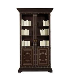 Lafayette Display Cabinet from the Hartwood collection by Hickory Chair Furniture Co.