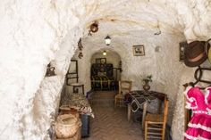 Maisons trogolodytes (cuevas) du Sacromonte
