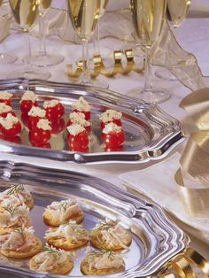 These savory and visually stunning treats for a holiday party will dazzle guests.