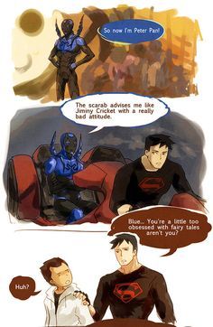 This is a blog dedicated to the WonderBeetle spaceship and the respective characters Jaime Reyes and Cassie Sandsmark. Description from fuckyeahwonderbeetle.tumblr.com. I searched for this on bing.com/images