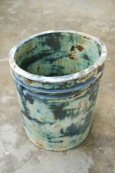 Matt Merkel ceramic bucket