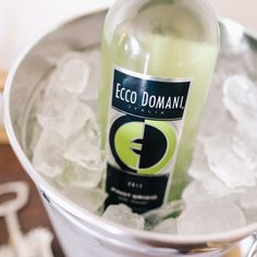 Keep a bottle of our Pinot Grigio chilled for impromptu gatherings at your home!