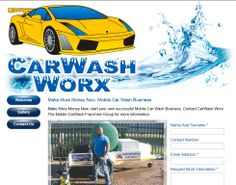 CarWash Worx Website Design By DRAGAN GRAFIX, CarWash Worx, Make More Money Now, start your own successful Mobile Car Wash Business. Contact CarWash Worx The Mobile CarWash Franchise Group for more information. Visit http://www.carwashworx.co.za