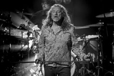 PHOTO: Robert Plant performing last night at the iTunes Festival in London