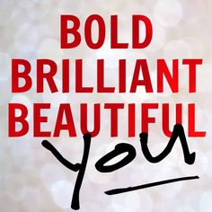 The #boldbeautifulbrilliant project is a support group for all of us seeking to be real and vulnerable. No judging, no questions, just support and words of encouragement. Click the link to find out more, then join us for an incredible year ahead.