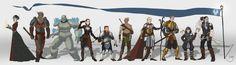 Dragon Age Inquisition,Dragon Age,Dragon Age Origins,Dragon Age 2,Редизайн,Dragon Age Origins - Awakening