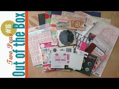 Out of the Box #16: 2Peas Scrapbook Haul featuring Jen Gallacher's latest purchases from 2Peas.