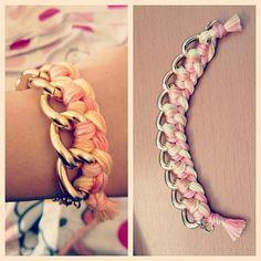 Sweet Lemonade Woven Bracelet