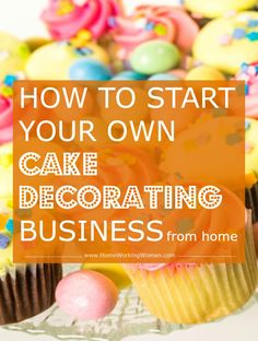 You're hear because you enjoy decorating cakes, you have a talent for it and now you're thinking of making this hobby into a business, whether that be a sideline or a full-time business. Learn how to start your own cake decorating business home home.