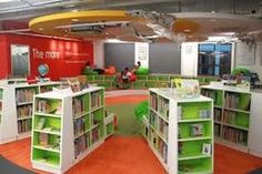 Nice And Modern Library To Rock This Year - Page 48 of 49 Library Inspiration, Library Ideas, Kids Library, Library Images, School Library Design, School Libraries, Library Furniture, Classroom Furniture, Library Shelves