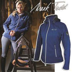 a77792a429e4e6 Fair Price Equestrian   Mark Todd Ladies Softshell Fleece Lined Jacket Navy