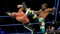 The Showoff looks to send a message to WWE Champion Kofi Kingston ahead of their Steel Cage Match at WWE Stomping Grounds by punishing fellow New Day member Xavier Woods. Zayn, Xavier Woods, Ego Tripping, Shane Mcmahon, R Truth, Baron Corbin, Mickie James, Steel Cage, Dolph Ziggler