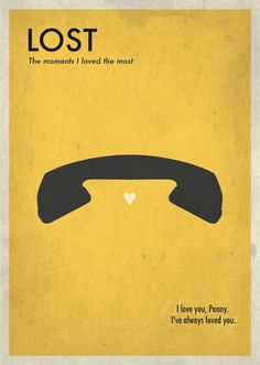 Lost Posters - The moments I loved the most by Laura Marcello, via Behance