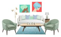"""""""Untitled"""" by she-kills-monsters ❤ liked on Polyvore featuring interior, interiors, interior design, home, home decor, interior decorating, ESPRIT, MCM, Zentique and Abanja"""