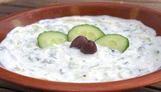 Meze of the day: Greek Tzatziki (Original recipe) Greek Recipes, Vegan Recipes, Cooking Recipes, Tzatziki, Cooking Courses, Greek Dishes, Original Recipe, I Foods, Food And Drink