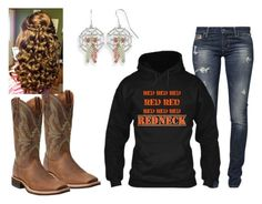 """Red red red...redneck!"" by hjohndeere820 on Polyvore featuring GUESS, Under Armour, Ariat and redneck"
