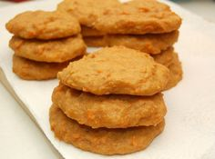 Sweet Potato Biscuits A simple and delicious teatime snack. #recipe