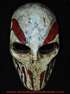 Army of Two Airsoft Paintball BB Gun Rios Helmet Goggle Mask Soft Air Maske Maskque – burn Airsoft Gas Mask, Airsoft Helmet, Airsoft Guns, Army Of Two, Paintball Gear, Custom Helmets, Halloween Masquerade, Cool Masks, Awesome Masks