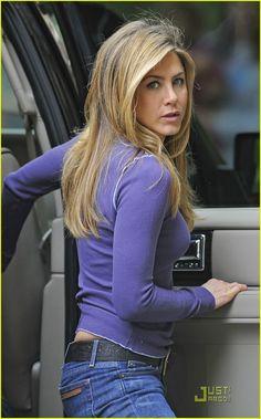 Jennifer Aniston Pickled purple