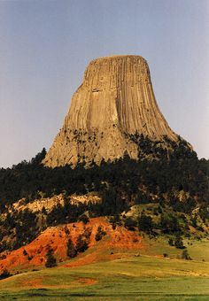 Devil's Tower, Wyoming. The name Devil's Tower originated in 1875 during an expedition led by Col. Richard Irving Dodge when his interpreter misinterpreted the name to mean Bad God's Tower, which then became Devil's Tower.