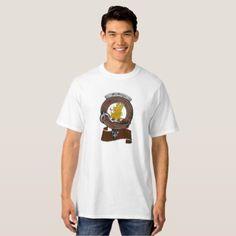 #MacGregor Clan Badge Tall Men's Light T-Shirt - #familyreunion #family #reunion