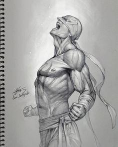 Fishermagical Thought: Fists of Friday! Iron Fist Art by InHyuk Lee Hulk Sketch, Man Sketch, Sketch Art, Dark Drawings, Marvel Drawings, Marvel Art, Marvel Heroes, Marvel Comics, Marvel Characters
