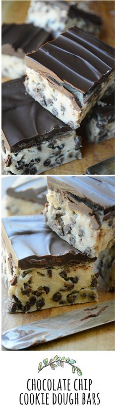 Let the fridge do all the work for these to-die-for cookie dough bars!