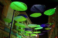 passage, paper lights intervention by ivan juarez of x-studio