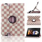 """360 Rotating PU Leather Smart Case Cover For Amazon 2012 kindle fire HD 8.9"""" US"""