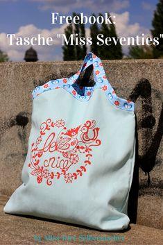 """ebb1acec3a6f1 FREEBOOK  Tasche """"Miss Seventies"""". Karierter StoffTasche ..."""