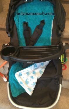 holymamamoly - DIY easy to sew stroller liner, works for ANY stroller!