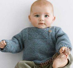 Пуловер (д) 28*93 Phildar №4110