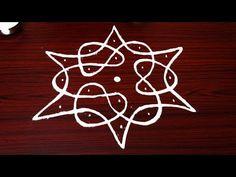 latest sikku kolam dots - simple melikala muggulu - easy and simple rangoli designs Indian Rangoli Designs, Rangoli Designs Flower, Rangoli Border Designs, Small Rangoli Design, Rangoli Designs With Dots, Flower Rangoli, Rangoli With Dots, Beautiful Rangoli Designs, Simple Rangoli Kolam