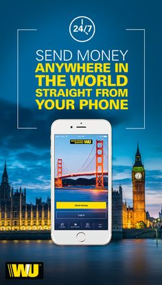 Put the power to send money around the world in your pocket today with the free Western Union app. Send money, pay bills, track transfers, find locations or manage your profile. Download the app today!