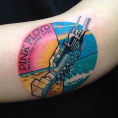 tatuajes pink floyd wish you were here