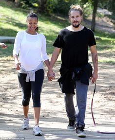 Zoe Saldana and Marco Perego - In Los Angeles.  (August 2014)